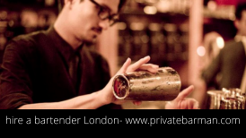 hire a bartender London- www.privatebarman.com