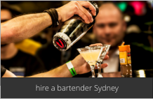hire a bartender Sydney