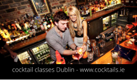 cocktail classes Dublin - www.cocktails.ie